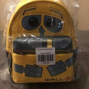 Disney Loungefly Exclusive Wall.E mini backpack